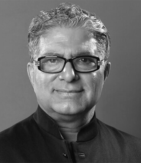Opening meditation with special guest: Deepak Chopra, M.D.